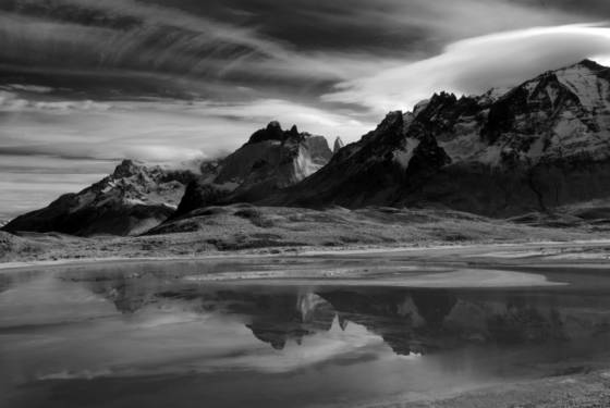 Torres del paine reflections 2