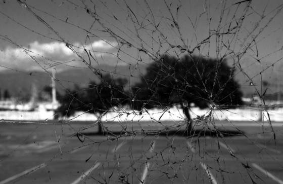 Shattered view