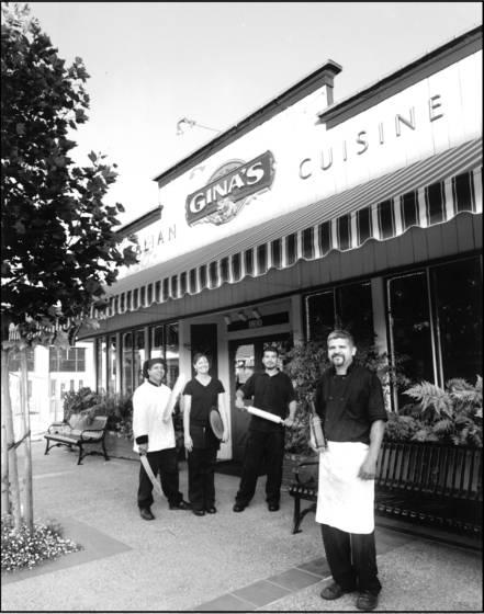 Gina s italian restaurant