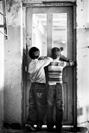 Children of internally displaced people from abkhazia war