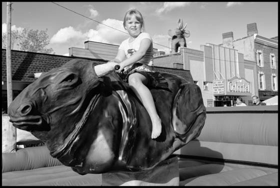 10 girl with mechanical bull  belfast
