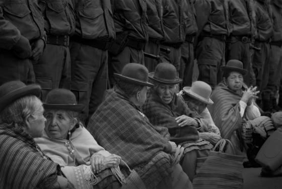 Chaco war widows