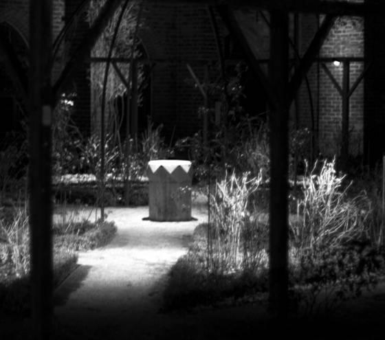 The monastery garden