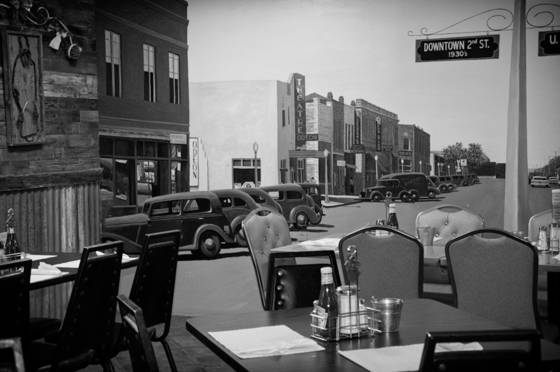 Route 66 caf