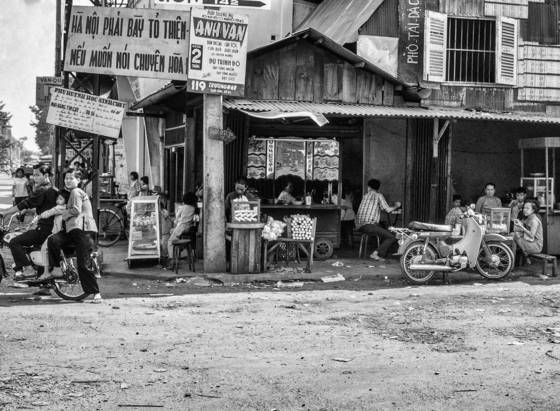 The streets of saigon