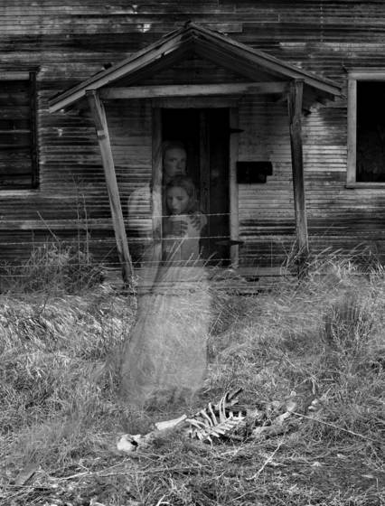 Skeleton school ghosts