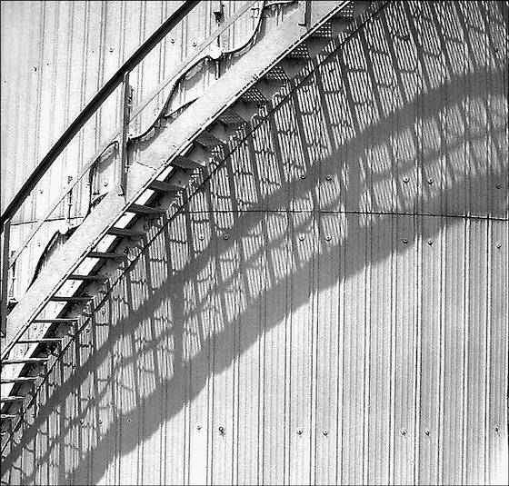 Stair shadow