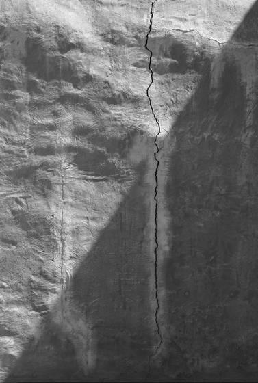 Cracked adobe