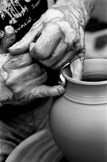 Potter s hands 6