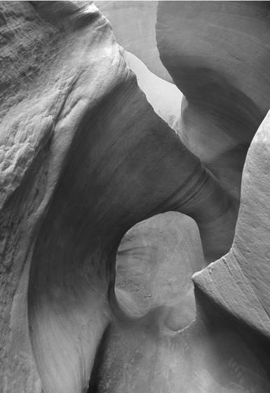 Peek a boo slot canyon