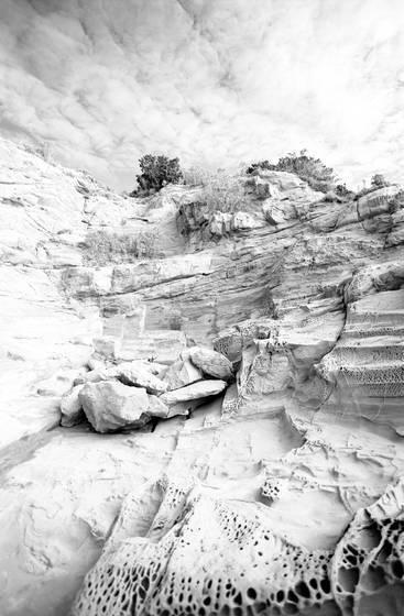 Rocks at calafuria