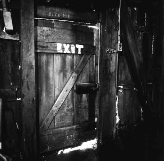 Coal breaker exit