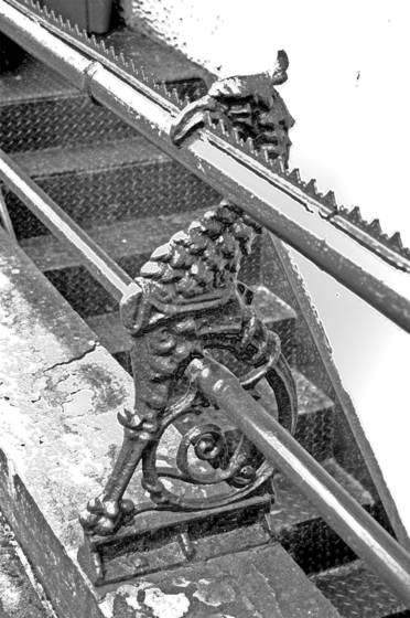 Bird railing