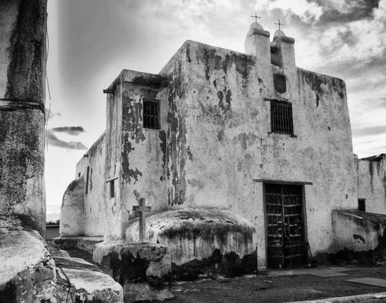 Old mission at janos