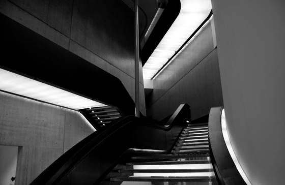 Maxxi museum staircase
