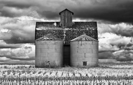 Barn two silos