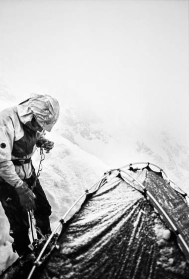 Cold shkhara  5193m  morning