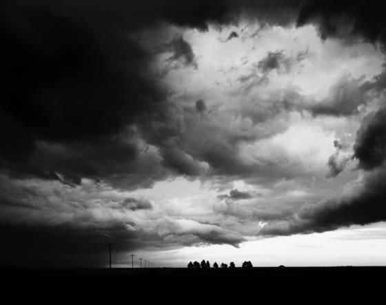 Sky thunderstorm