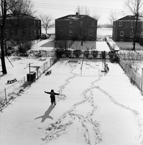 Snow artist