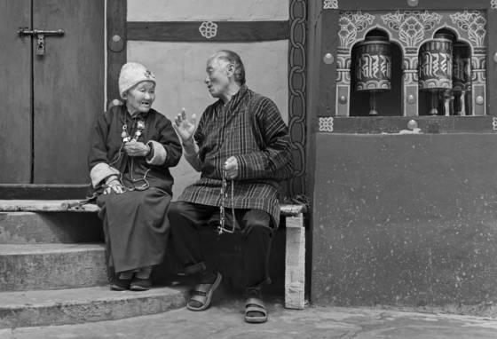 Prayer and conversation