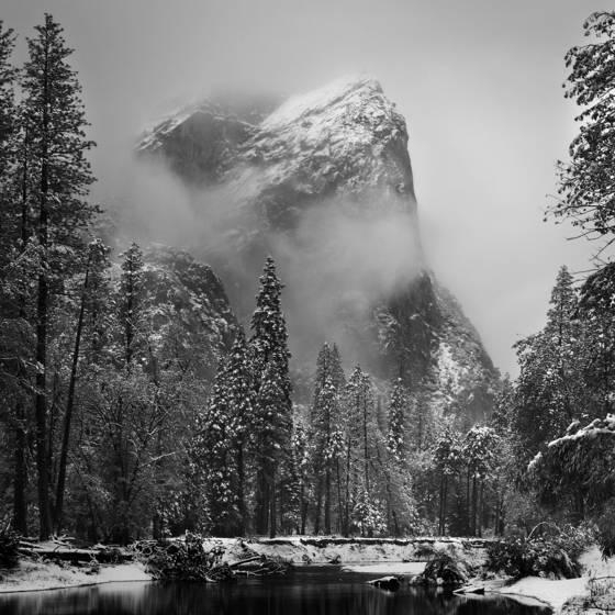 Yosemite dusted
