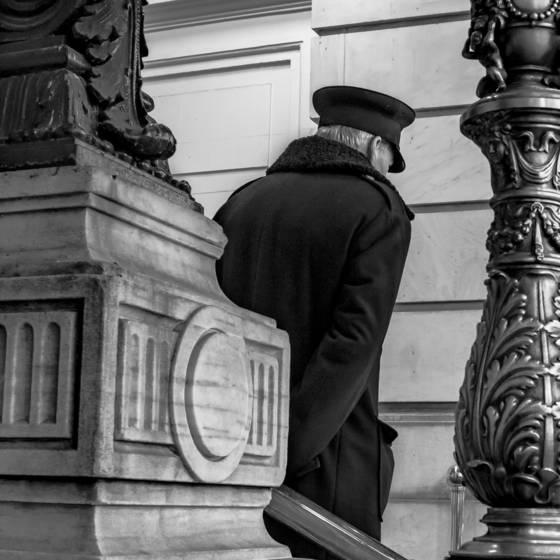 Doorman at the plaza
