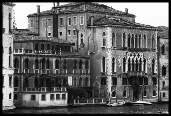 Palace on the grand canal