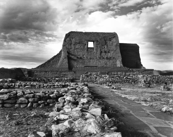 Pecos adobe ruins