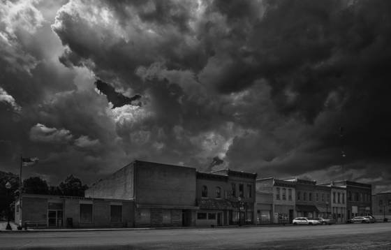 Small town america   the gathering storm