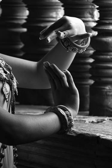 Apsara s hands