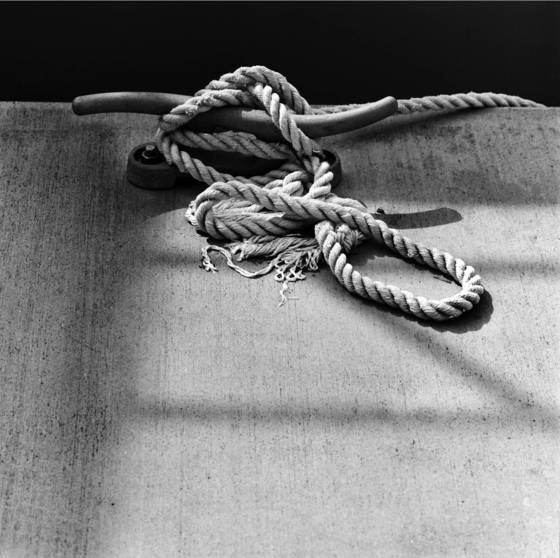 Cleat and rope