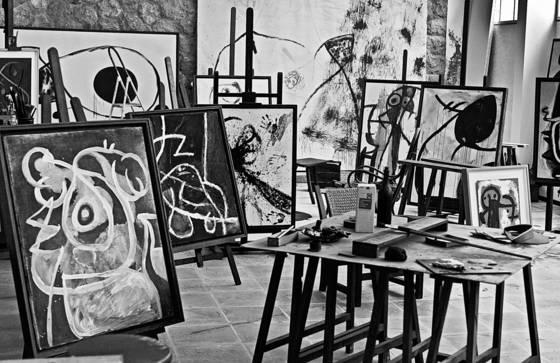 Juan miro s workshop
