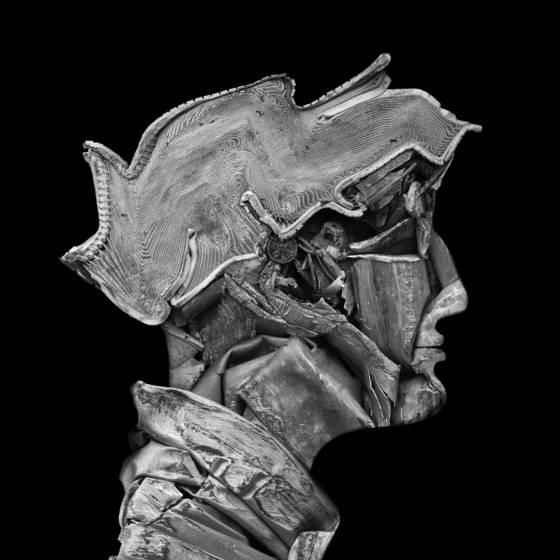 Portrait in steel