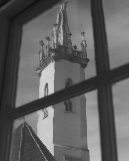 Distorted belltower