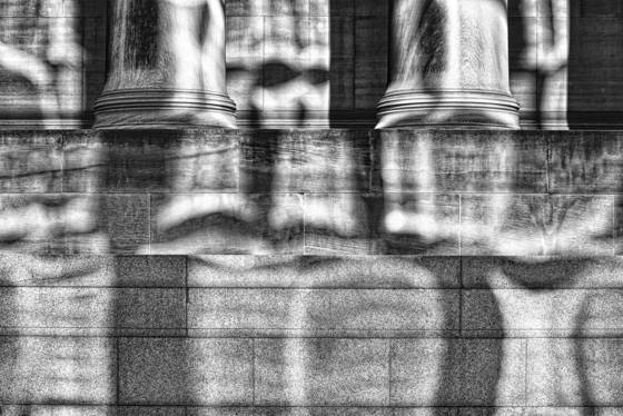 Columns and shadows
