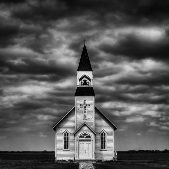 Church on the prairie