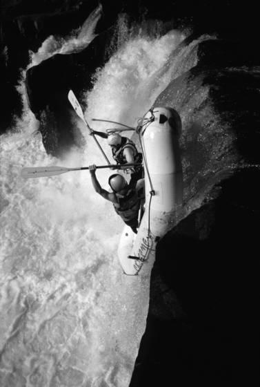 Raft drop