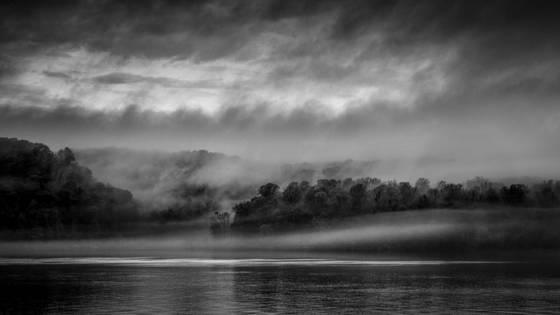 Ohio river fog