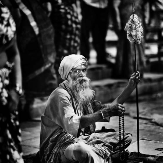 Sadhu at ganga