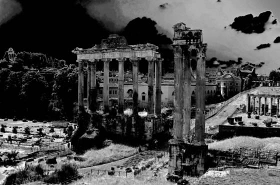 Foro romano ruins ii