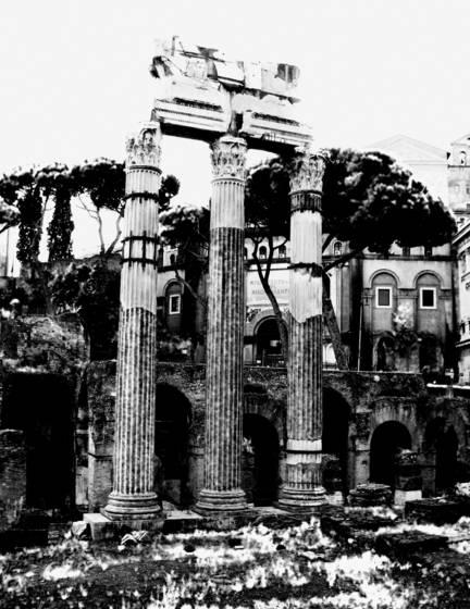 Foro romano ruins iii