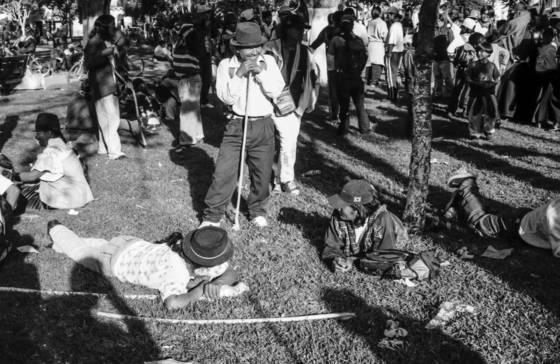 Quechua protest