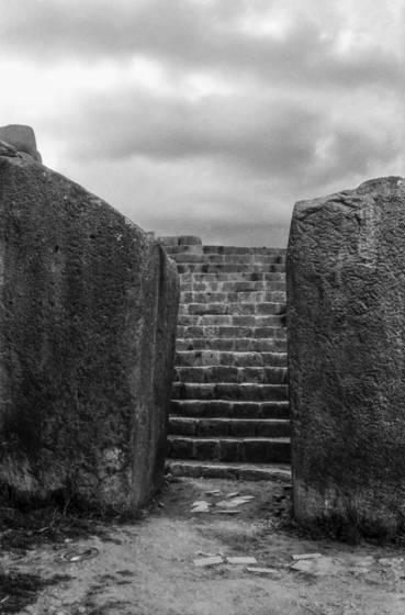 Stairway at sacsahuaman
