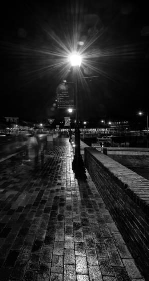 Brick walk rain