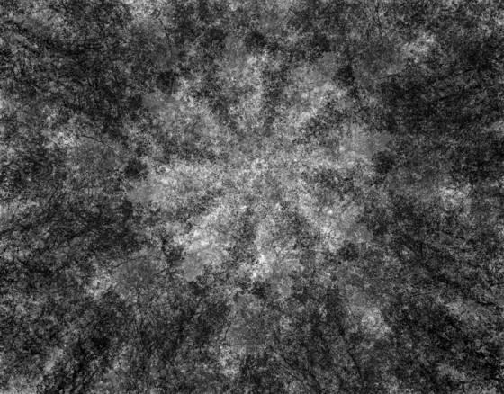 Kaleidoscope in grayscale 15