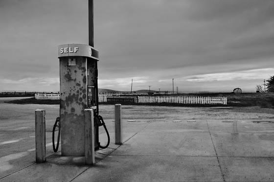 Gas pump  piedras blancas ca  2005