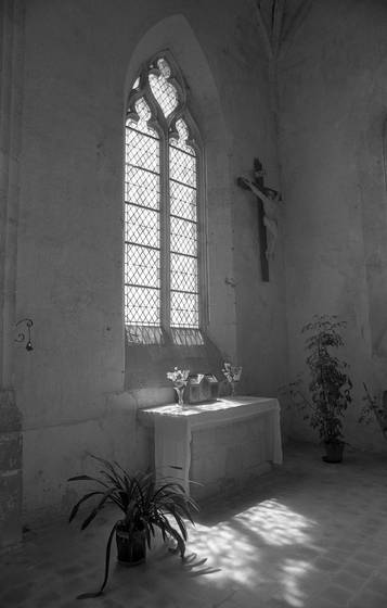 French church interior