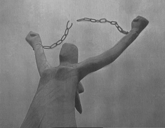 Women s liberation statue