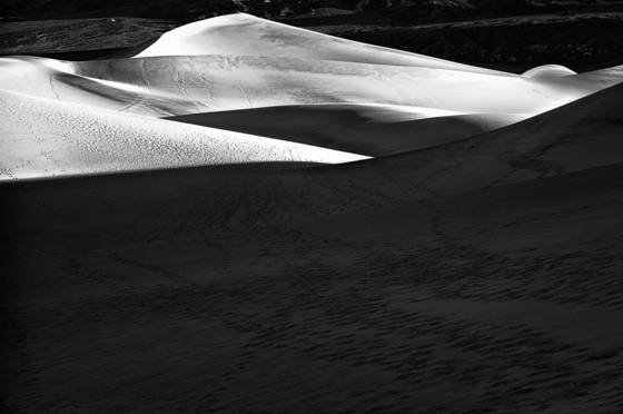 Death valley sand dunes  2 2012