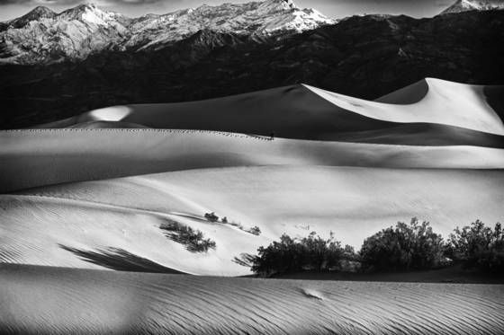 Death valley sand dunes  3 2012